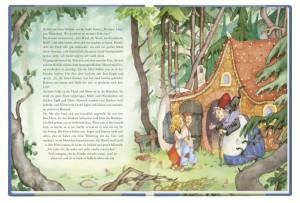 """Innenansicht aus """"Schneewittchen und andere Märchen der Brüder Grimm"""""""